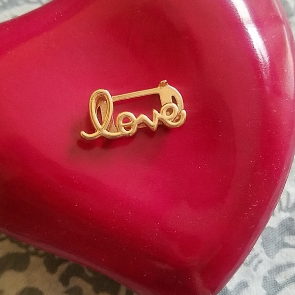 "KEEP Collective Jewelry - Keep Collective rose gold ""Love"" key"